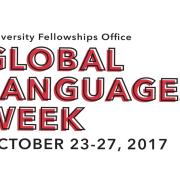 Global Languages Week Oct. 23-27