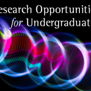 Learn about undergraduate research during spring 2020 sessions and workshops