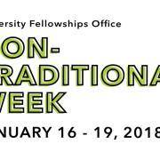 Nontraditional Week Jan. 16-20