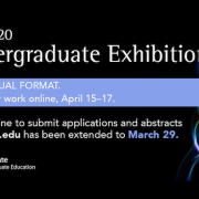 Undergrad Exhibition for Research, Inquiry, Creative Activity to be held online